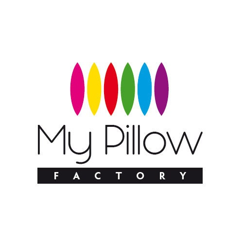 My Pillow Factory customized pillows in shape of puzzle and by mypillowfactory