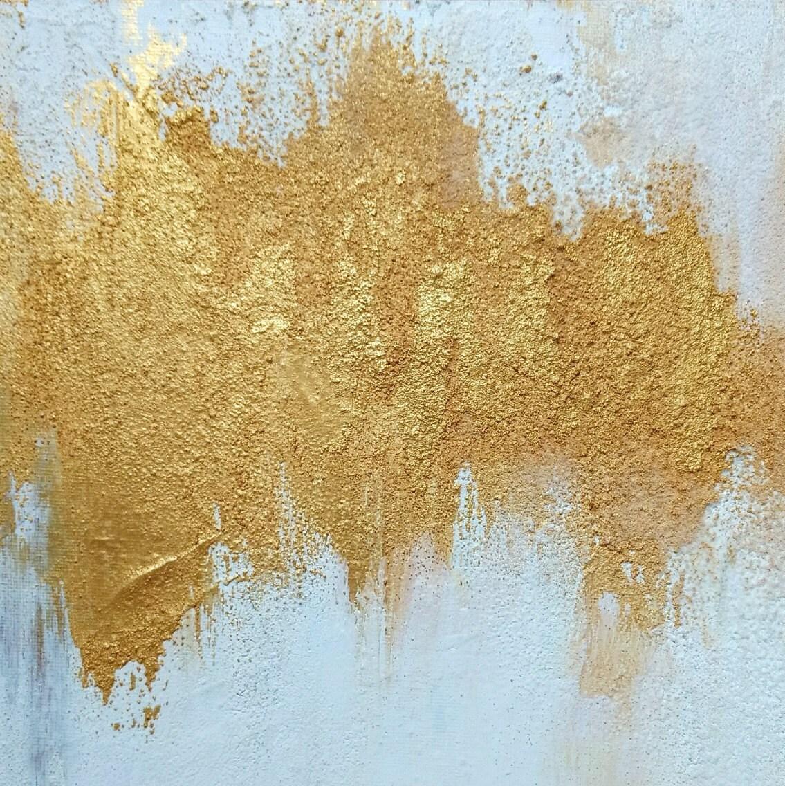 Abstract Acrylic Painting Set of Three Small Painting Wall Art