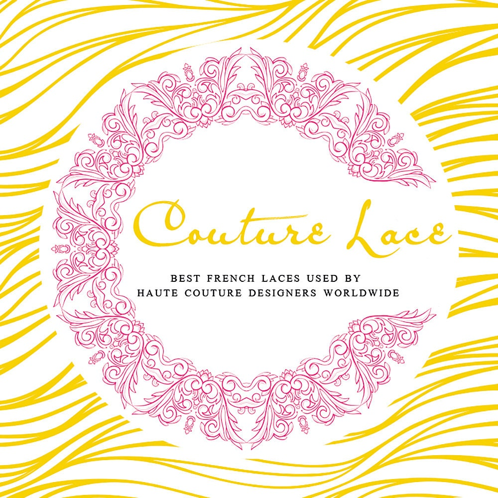 Best french laces used by haute couture designers von CoutureLace