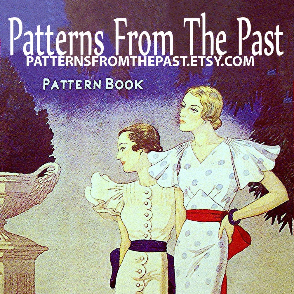 Vintage sewing patterns for sale by patternsfromthepast on etsy jeuxipadfo Choice Image