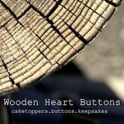WoodenHeartButtons