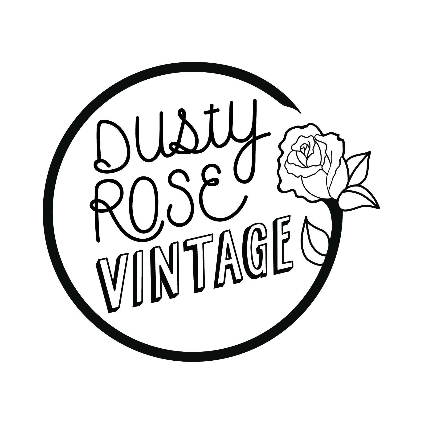 dustyrosevintage