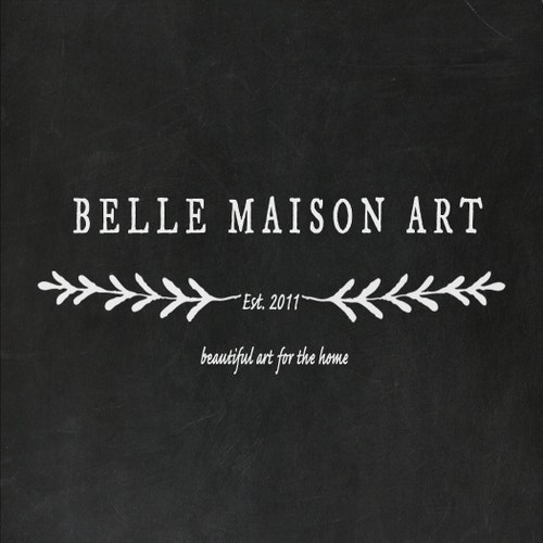 Beautiful Art for the Home by BelleMaisonArt on Etsy