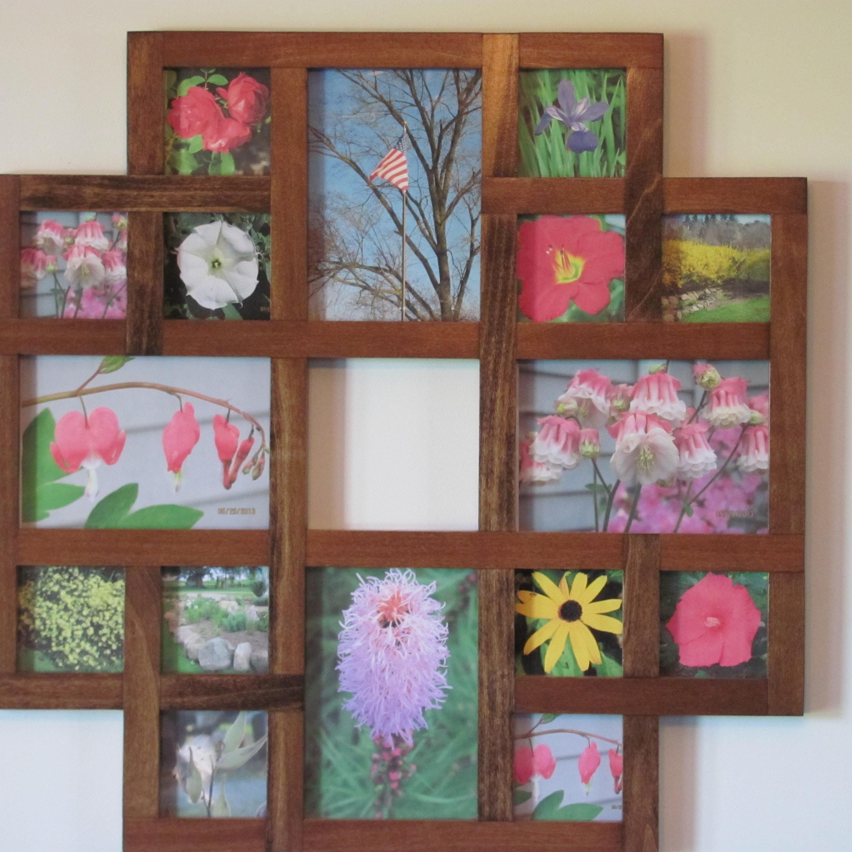 Picture Frame Collages Custom Frames Cutting von ZimWoodworking