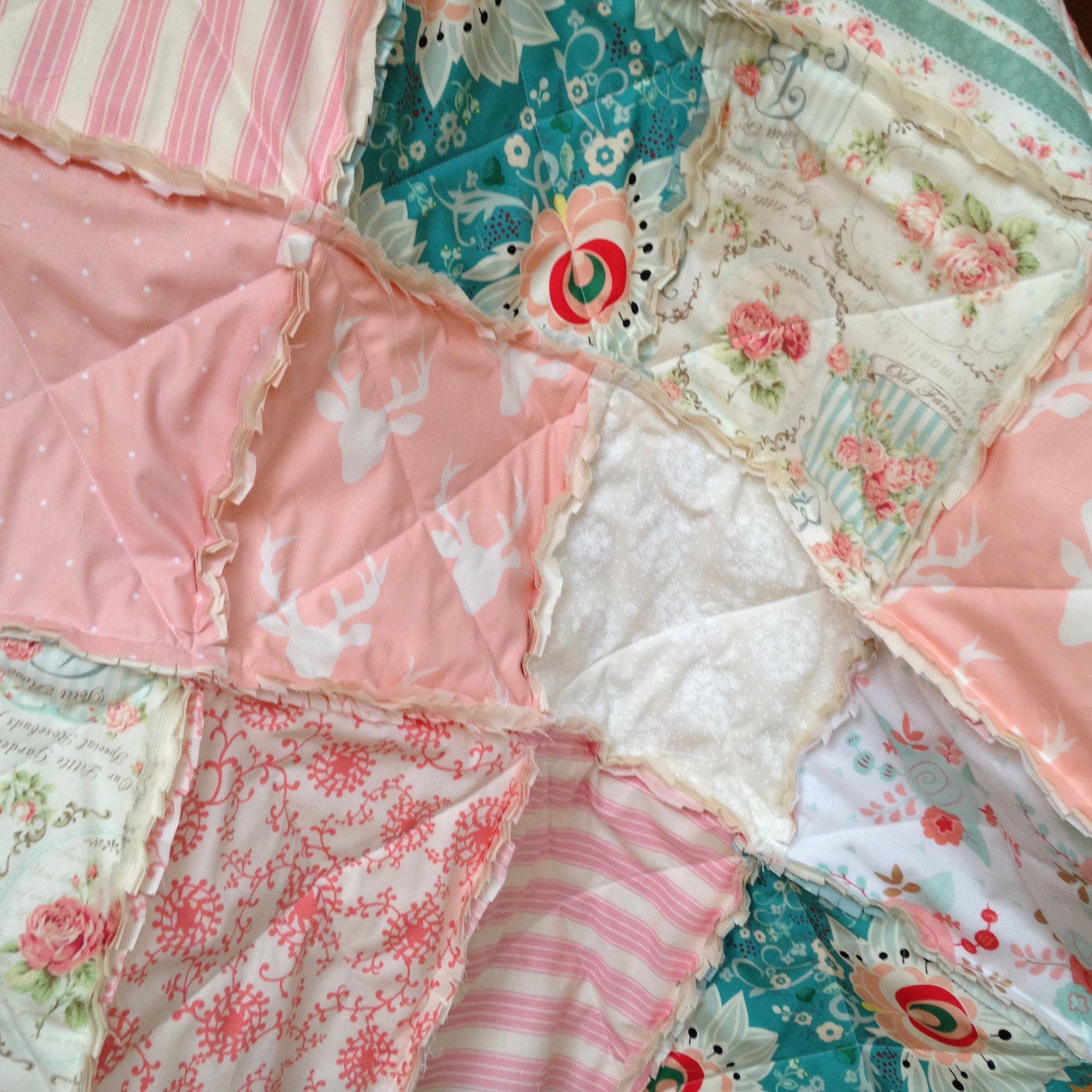Handmade Quilts For Your Nursery by CottageDome on Etsy