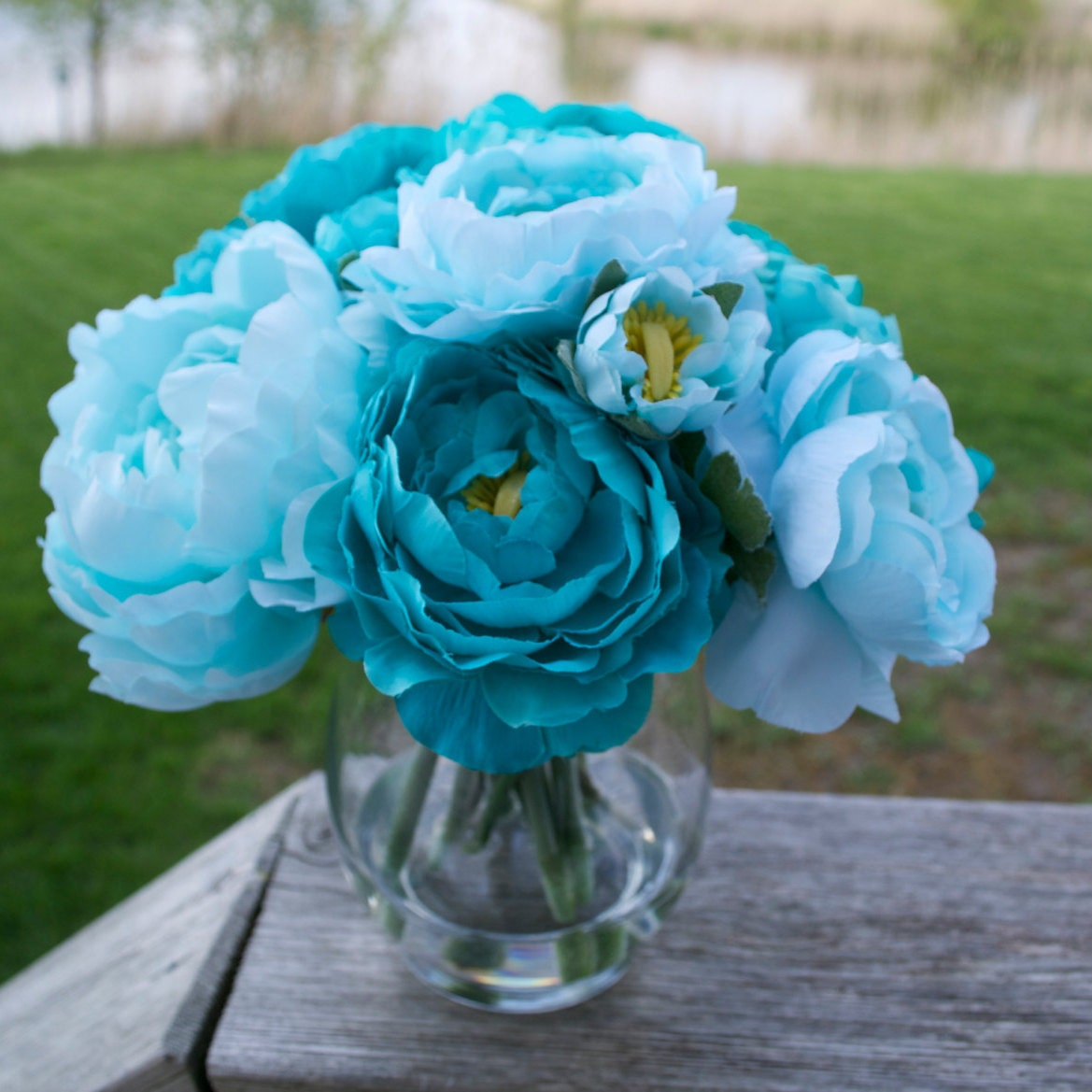 Faux Floral Arrangements for the Home & by ChicagoSilkFlorist