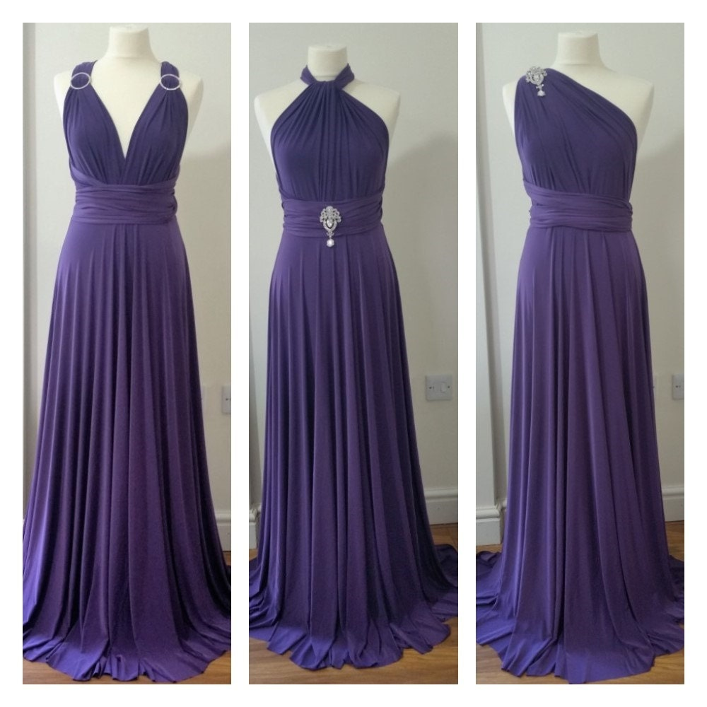 Wedding/bridesmaids multiway convertible dresses by NettyDDesigns