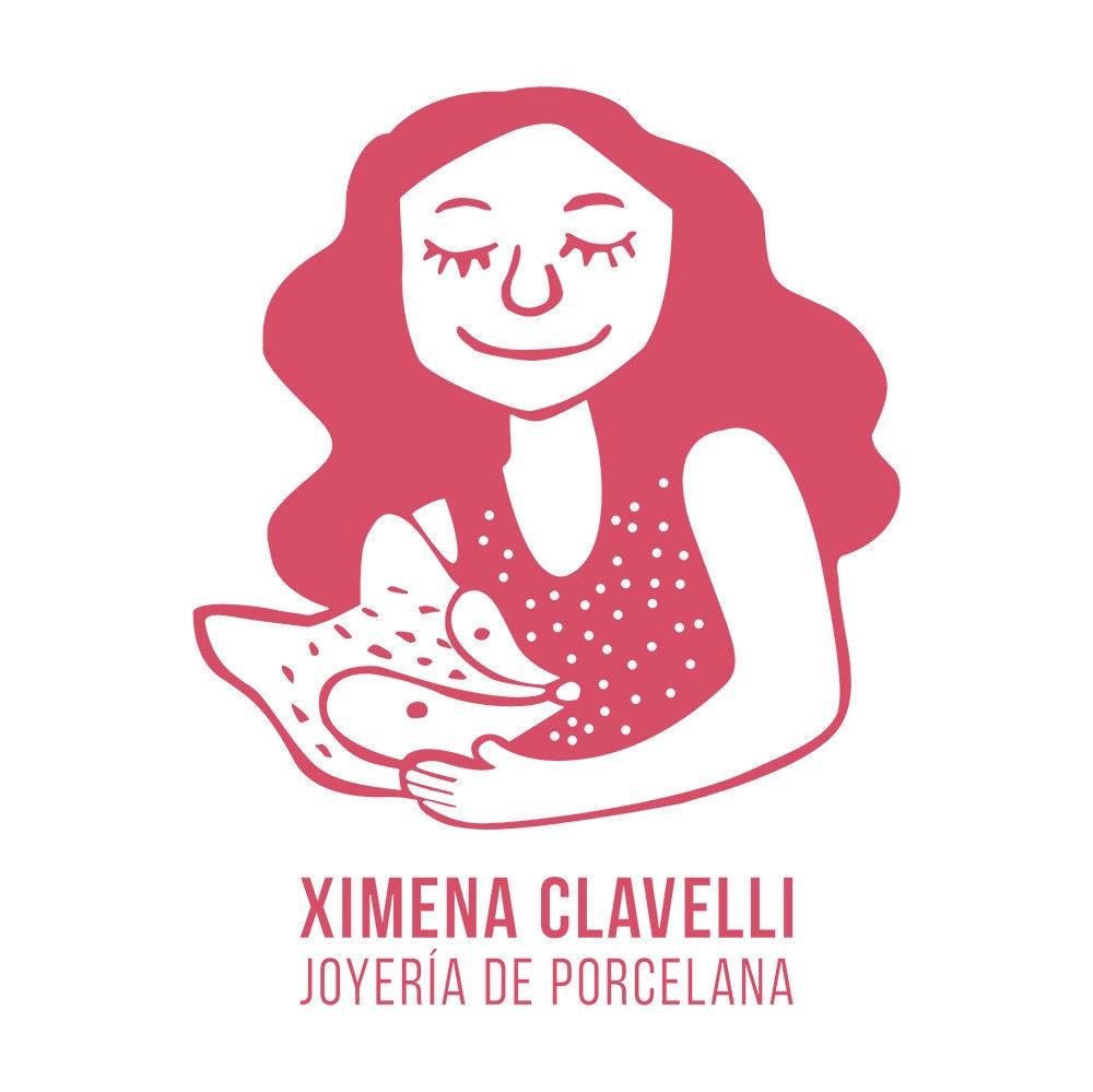 Porcelain Jewelry handmade by Ximena Clavelli. por XimenaClavelli