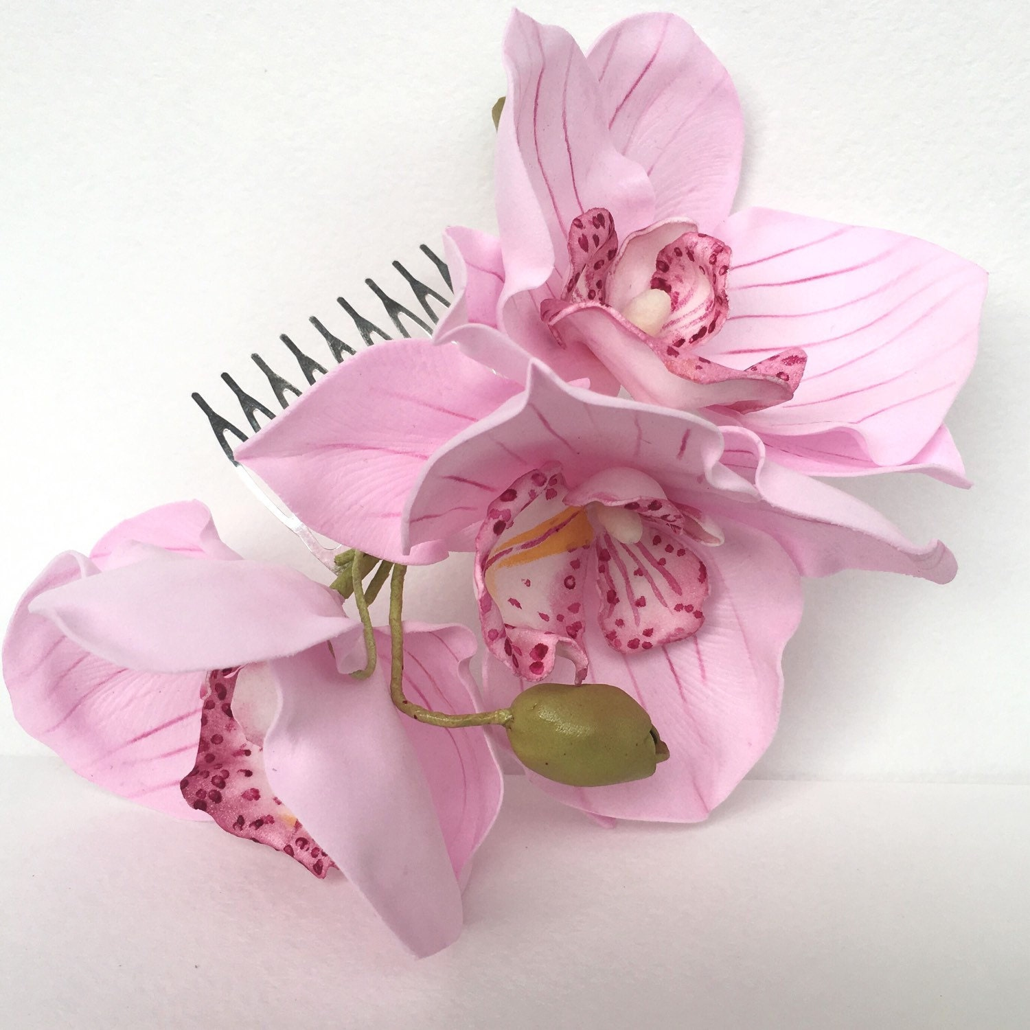 Orchids Wedding Hair Accessories Real Flower Accessories