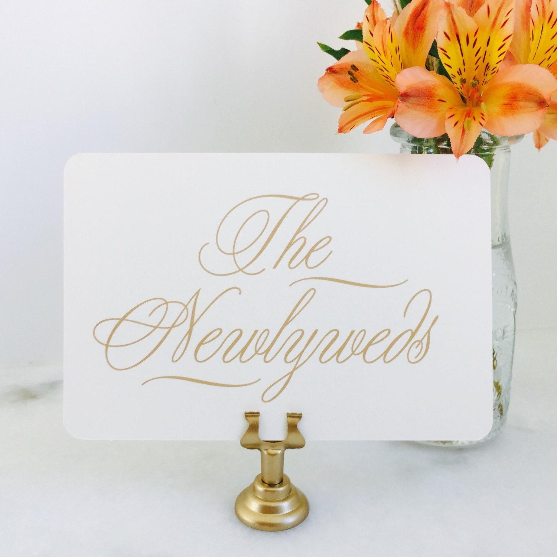 Süße und einfache Tabellennummer gesetzt Hochzeit Tisch