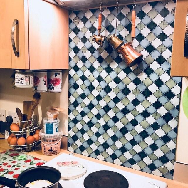 Premium-Wand / Tile Decals-eine künstlerische Note zu von Bleucoin
