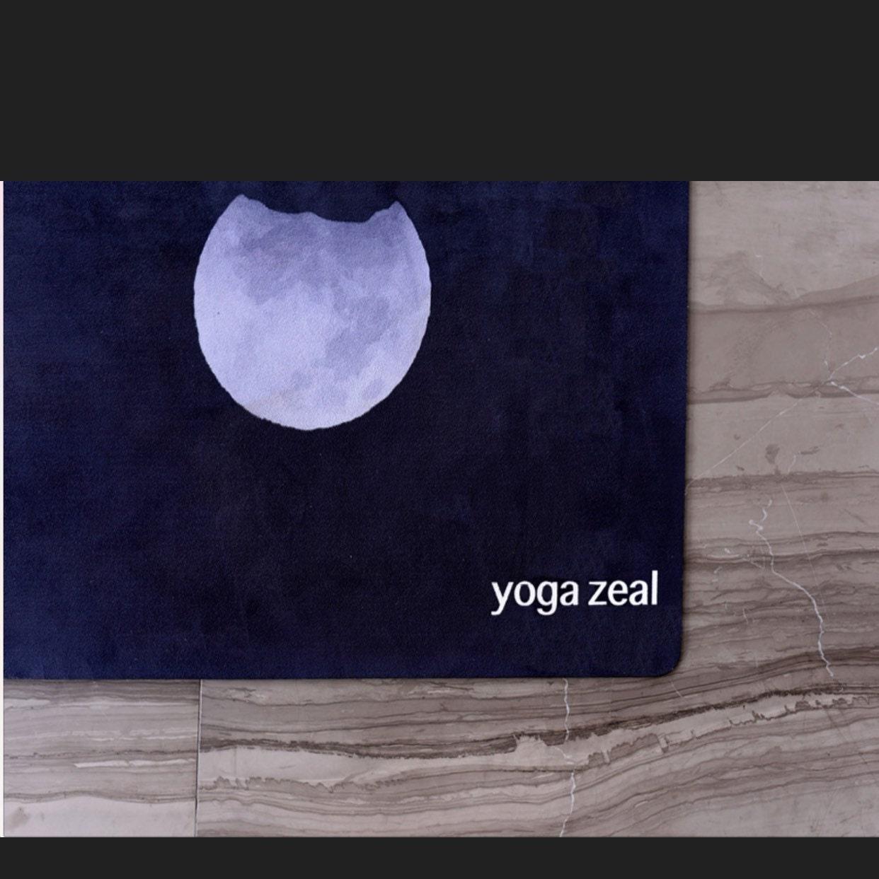 Yoga Towel / Moon Phases / Xmas Gift / Gift For Her / Yoga