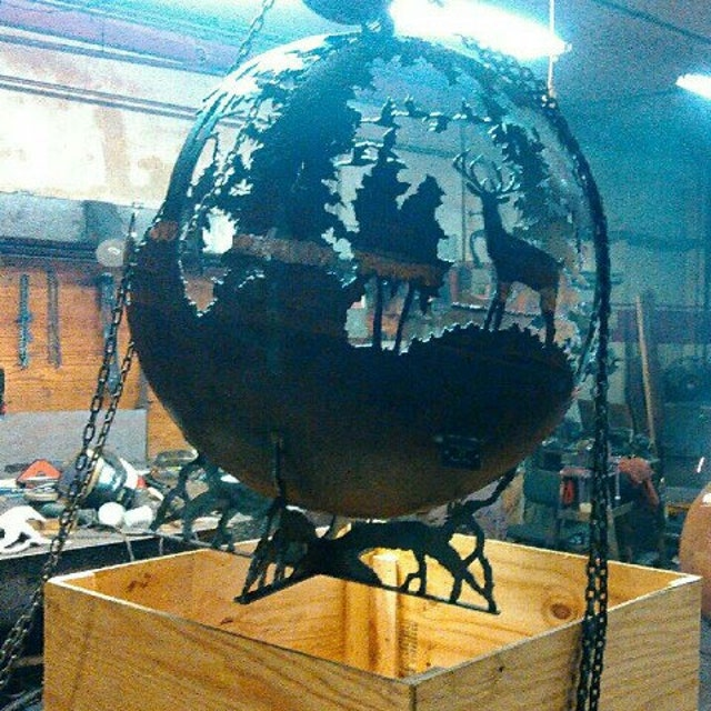 Melissa Crispu0027s Artisan Fire Pit Spheres By TheFirePitGallery