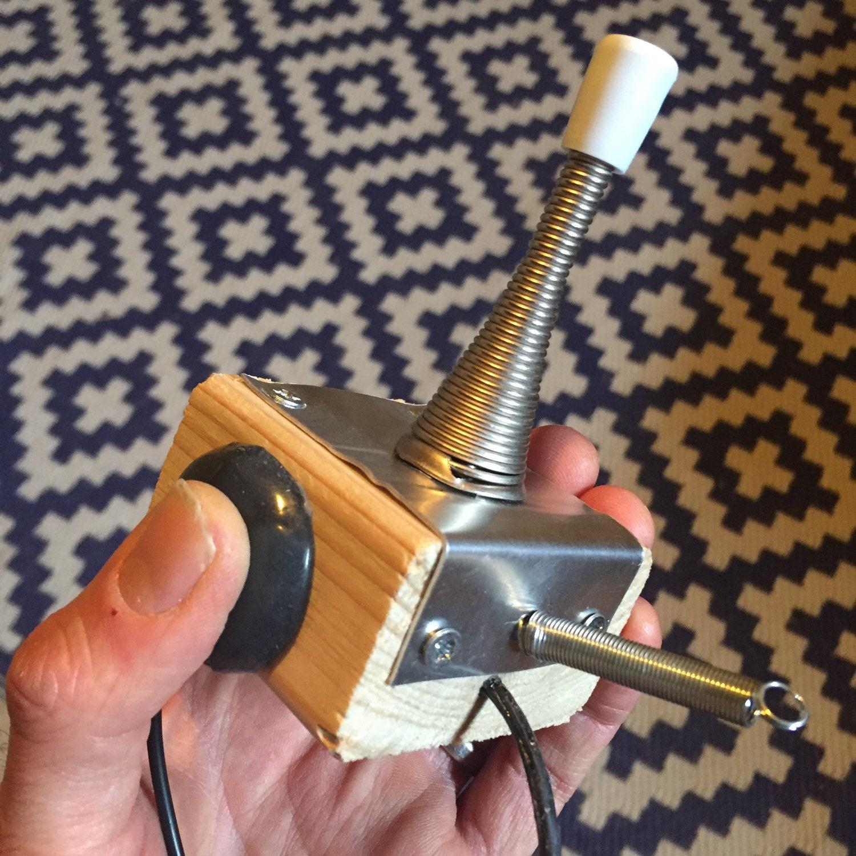 plank pluck porta foley plunker piezo transducer pickup