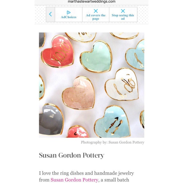 Pottery handcrafted with love by Susan von susangordonpottery