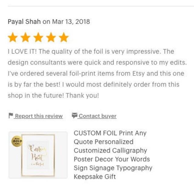 bridal shower invitations custom gold foil by