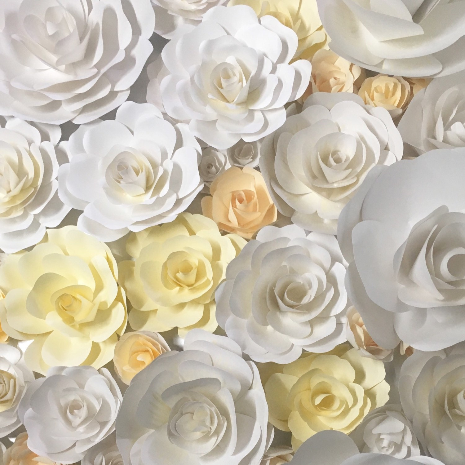 Unique Wall Decor Paper Flowers Model - All About Wallart ...