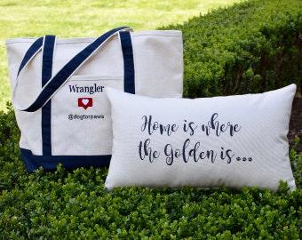 Totes & Throw Pillows